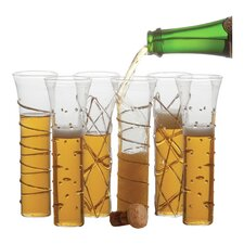 Fete Champagne Flutes (Set of 6)