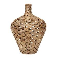 Padma Woven Water Hyacinth Vase