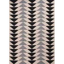 Kolten Ivory/Black Indoor/Outdoor Area Rug