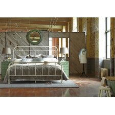 Williamsburg Queen Metal Panel Bed