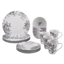 16 Piece Porcelain Dinnerware Set