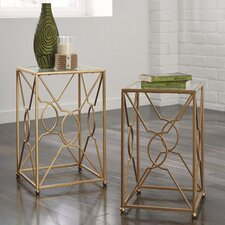 Toulouse 2 Piece End Table Set