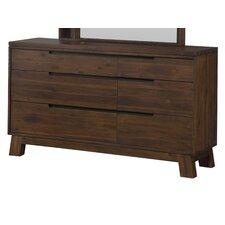 Damien 6 Drawer Dresser