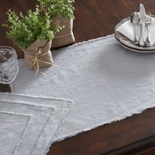 Foret Fringed Stone Washed Placemat (Set of 4)