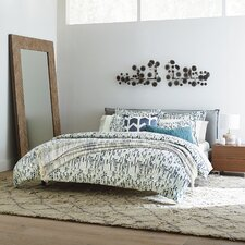 French Seam Platform Bed