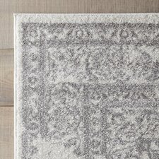 Blanche Rug in Ivory & Silver