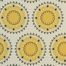 Medallion Band Fabric - Citrine