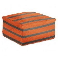 Striped Pouf