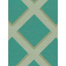 Cross Lane Fabric - Turquoise