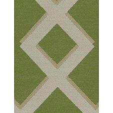 Cross Lane Fabric - Lime