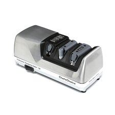 Professional Sharpening Station Diamond Coated Stainless Steel Electric Knife Sharpener