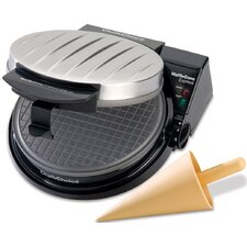 Cone Waffle Maker with Rib Cover