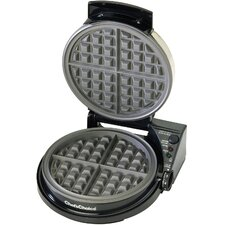 Belgian Pro Waffle Maker with Rib Cover