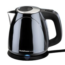 1 Quart Stainless Steel Cordless Electric Tea Kettle