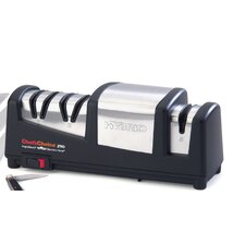 Hybrid Angle Select Hone Diamond Coated Stainless Steel Electric Knife Sharpener