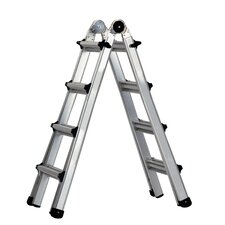 World's Greatest  Aluminum Multi-Position Ladder