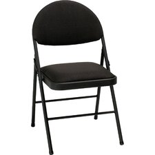 XL Fabric Comfort Folding Chair (Set of 4)