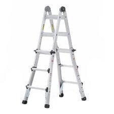 13 ft Aluminum Multi-Position Ladder