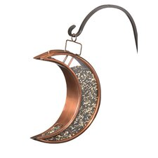 Crescent Moon Decorative Bird Feeder