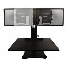 "15.5"" H x 28"" Sit Stand Desk Converter"