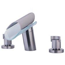 Morgana Double Handle Deck Mount Roman Tub Faucet Trim Grip Handle
