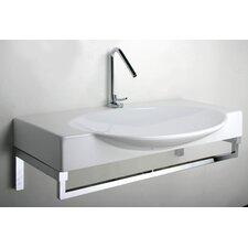 Swing 85 Above Counter/ Wall Mount Bathroom Sink