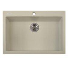 "One Series 30"" x 20"" Single Basin Drop in Version Kitchen Sink"