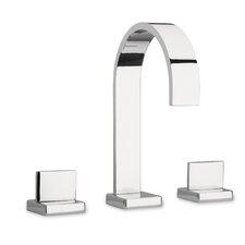 Novello Double Handle Deck Mount Roman Tub Faucet with Lever Handle