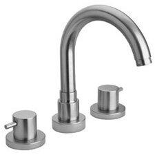 Elba Double Handle Deck Mount Roman Tub Faucet with Lever Handle