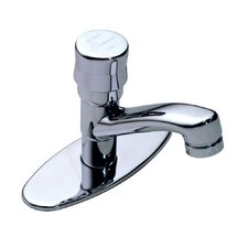 Scot Single Hole Bathroom Sink Faucet with Pump Handle