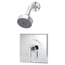 Duro Pressure Balance Shower Faucet with Lever Handle
