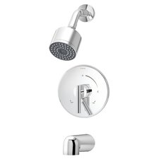 Dia Tub and Shower Trim with Lever Handle