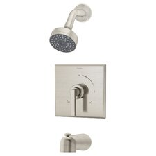 Duro Tub and Shower Trim with Lever Handle