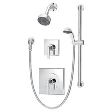 Duro Shower/Hand Shower System with Lever Handle