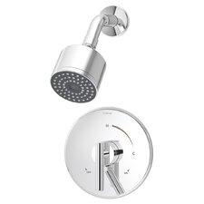 Dia Shower Pressure Balance Shower Faucet Trim with Lever Handle