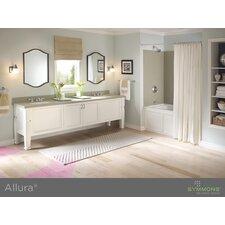 Allura Double Handle Mid-Arc Bathroom Faucet