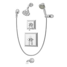 Canterbury Tub and Shower System with Lever Handle