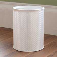 1530 Home Basketweave Round Wastebasket