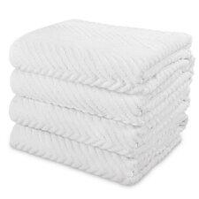 Chevron Bath Towel (Set of 4)