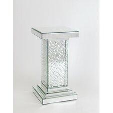 Pedestal End Table