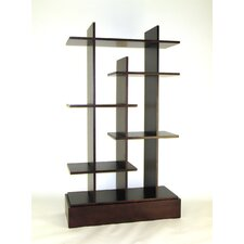 "Modern Skyline 65"" Accent Shelves"