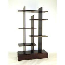 "Modern Skyline 65"" Accent Shelves Bookcase"