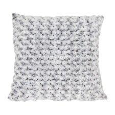 Short Hair Faux Fur Throw Pillow