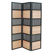 """70"""" x 52"""" Alternating 3 Panel Room Divider"""