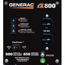 IX 850 Watt Gasoline Inverter Generator