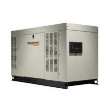 Protector QS 32 Kw Liquid-Cooled Dual Fuel Standby Generator in Aluminum Enclosure