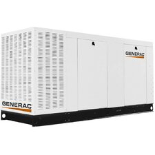 Commercial 150 Kw Liquid-Cooled Natural Gas Standby Generator with Alum and Catalyst in Aluminum Enclosure