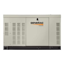 Protector 30 Kw Liquid-Cooled Dual Fuel Standby Generator in Steel Enclosure