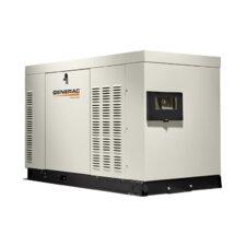 Protector 25 Kw Liquid-Cooled Dual Fuel Standby Generator in Aluminum Enclosure