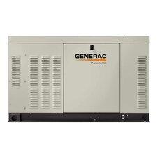Protector QS 22 Kw Liquid-Cooled Dual Fuel Standby Generator in Aluminum Enclosure